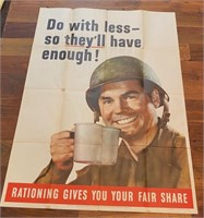 "1943 ""Do With Less So They'll Have"
