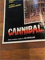 "1980 ""Cannibal Holocaust"" Rotolitografica-"