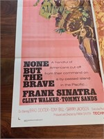 """1965 """"None But the Brave"""" Warner Bros"""