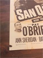 """1950 """"San Quentin"""" Warner Bros."""