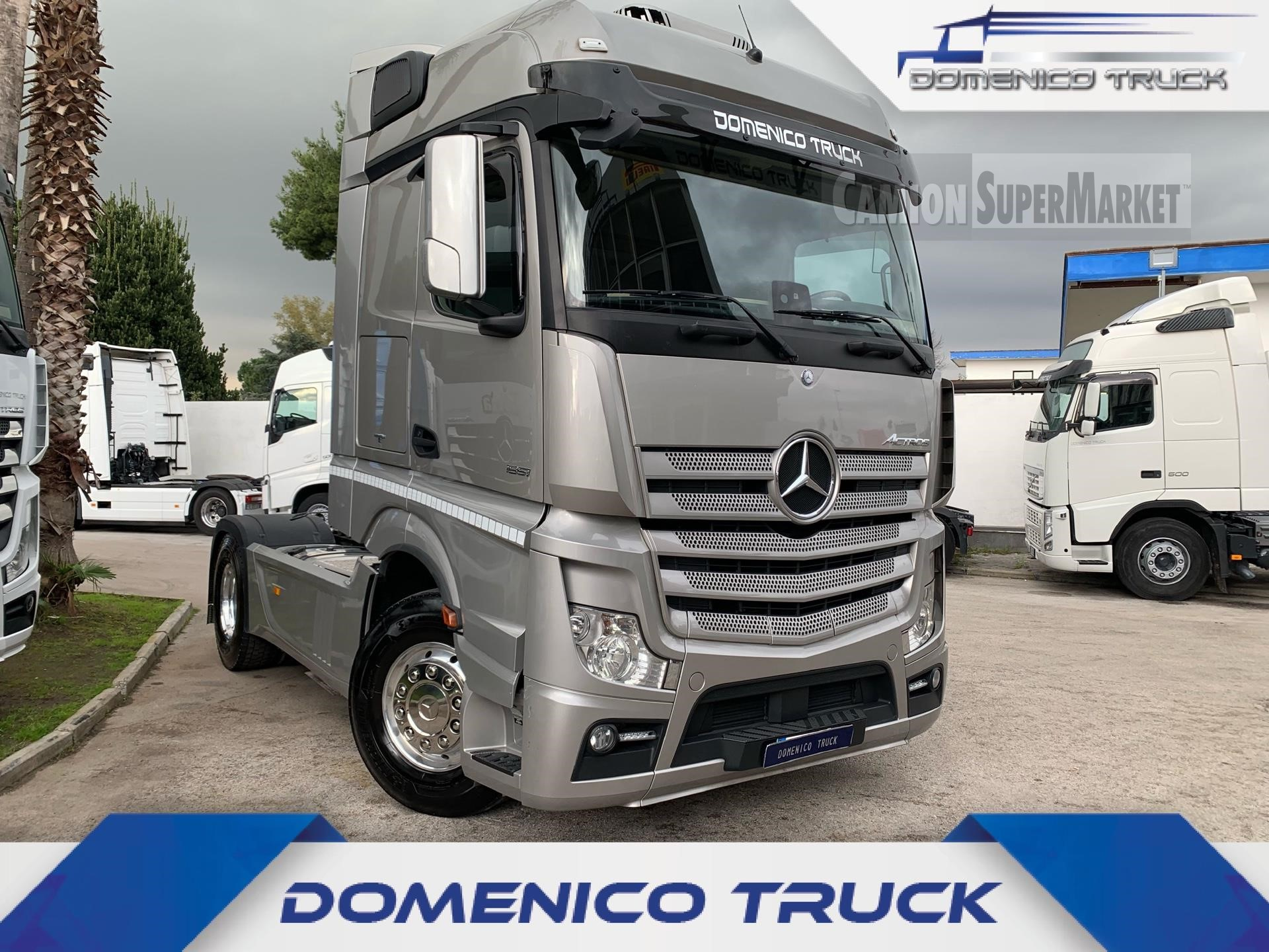 Mercedes-Benz ACTROS 1851 used 2017