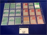 (18) 1970's Topps Basketball Cards
