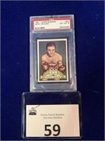 1951 Topps Ringide Petey Scalzo Boxing Card