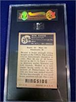 1951 Topps Ringside Bob Baker Boxing Card