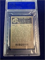 1951 Topps Ringside Fred Beshore Boxing Card