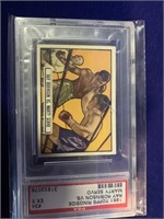 1951 Topps Ringside Ray Robinson vs. Marty Servo