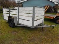 5.5x10' single axle trailer