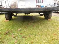 6x9' single axle tilt deck trailer