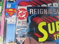 Lot (13) Comic Books Superman Batman