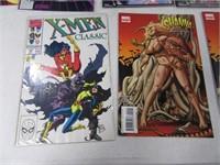 Lot of (10) Comic Books NthMan PSI X-MEN