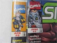 Lot (7) Comic Books Slingers