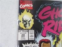 Lot (12) Comic Books Ghost Rider Dark Hawk