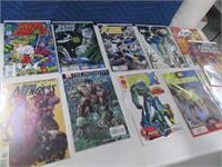 Lot (11) Comic Books Xman Silver Surfer Stryfes