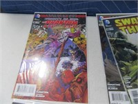 Lot (12) Comic Books Swap Thing Super Heros