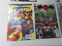 Lot (8) Comic Books Vigilance Supergirl Justic
