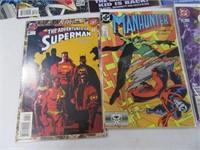 Lot (10) Comic Books Superman