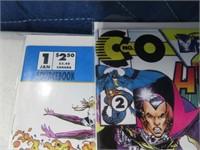 Lot (11) Ccomic Books Mask Hacktivist Stormwatch