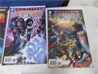 Lot (11) Comic Books JLA Fanstic Four Steel