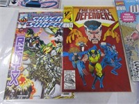 Lot (12) Comic Books Cable Fire Star Nomad