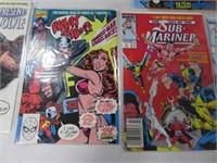 Lot (7) Comic Books Warlock Xforce What the?