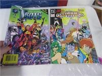 Lot (10) Comic Books Intruder Wild Star