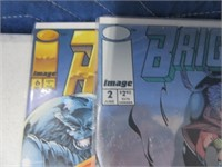 Lot (10) Comic Books Glory Brigate