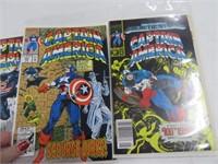 Lot (22) Comic Books Captain America