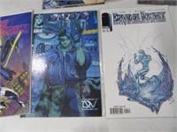 Lot (11) Comic Books WildStar Pitt Iron Ghost