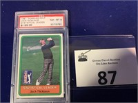 1981 Donruss Jack Nicklaus Golf Card