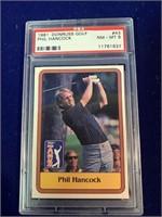1981 Donruss Phil Hancock Golf Card