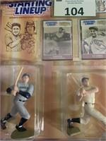 (3) 1989 Starting Lineup Baseball Greats