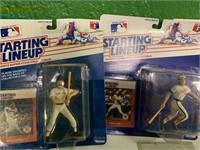 (3) 1988 Starting Lineup Baseball Superstars