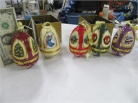 Lot (5) New Mr. Christmas Musical Ornaments $$$