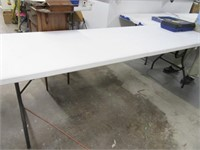 DualFold Carry 8' Poly Folding Table