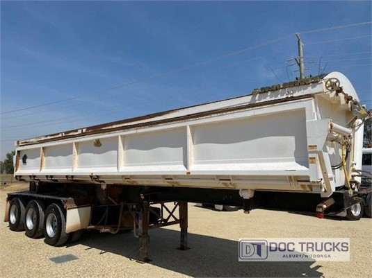 2008 Tristar Side Tipper Trailer DOC Trucks  - Trailers for Sale