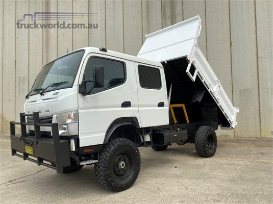 2016 Fuso Canter 4x4 Crew Cab - Trucks for Sale
