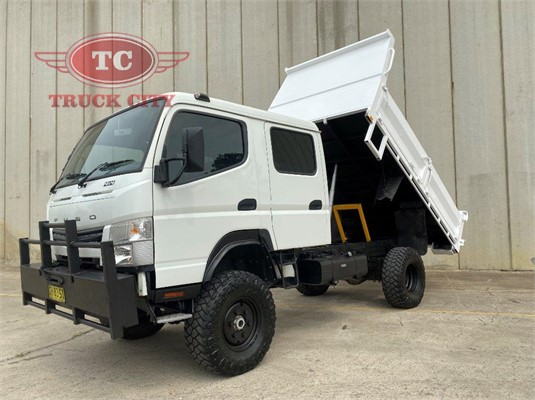 2016 Fuso Canter 4x4 Crew Cab Truck City - Trucks for Sale