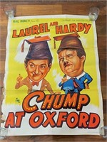 """Laurel and Haroy in """"Chump at Oxford"""""""