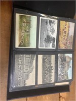 Vintage Post Cards in Photo Album