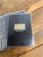 Selection of 24K Gold Plate Stamps