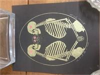 2014 Signed Skeleton Art