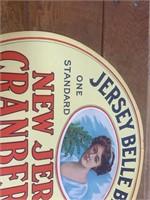 Jersey Bell Brand New Jersey Cranberry