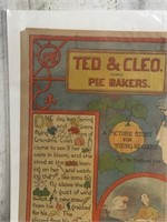 1898 Ted Cleo Pie Bakers Pictures