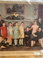 1943 Christmas at The Dionne's News-