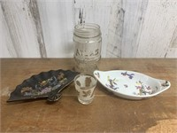 Selection of Ceramic and Glass Pieces