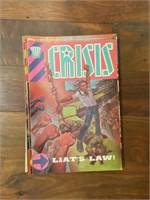 (20) Selection of 2000 AD Crisis Comics