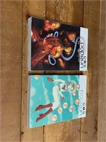 (2) Image Popgun Graphic Novels