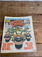 (20) Selection of 2000 AD Feat. Judge