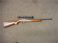 Ruger Model 10-22, 22cal, semi auto, Kassnar scope