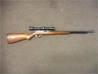 Marlin Model 60W, 22cal, semi auto, Simmons scope,